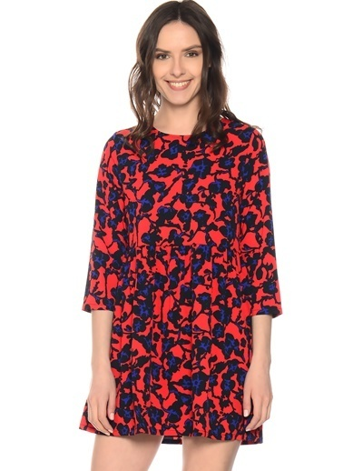 Compania Fantastica Elbise Kırmızı